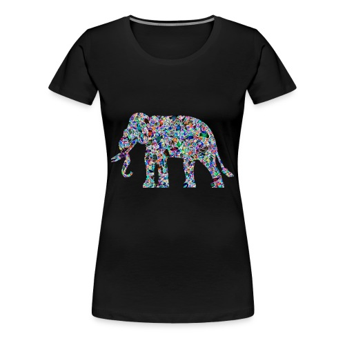 Elephant - Women's Premium T-Shirt