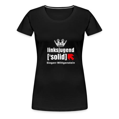 linksjugend ['solid] SiWi Weiß - Frauen Premium T-Shirt