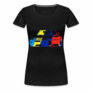 illustration 205 v2 - T-shirt Premium Femme