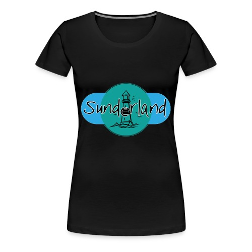 Sunderland Lighthouse Logo! - Women's Premium T-Shirt