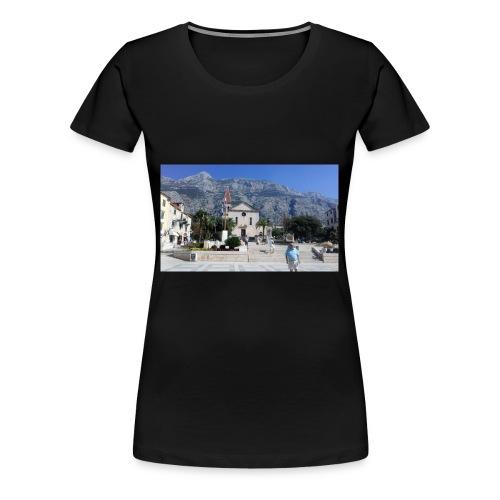 Makarska - Frauen Premium T-Shirt