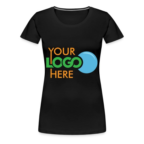 Your Logo Here - Women's Premium T-Shirt