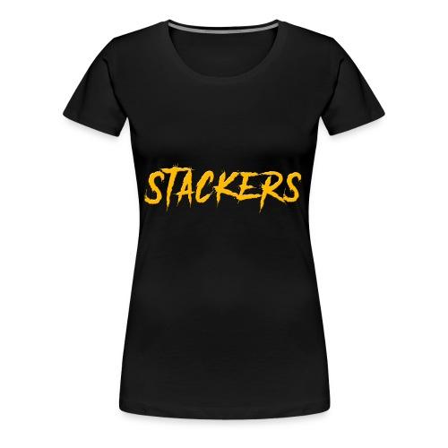 STACKERS - Women's Premium T-Shirt