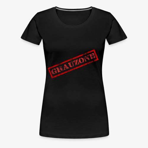 Grauzone - Frauen Premium T-Shirt