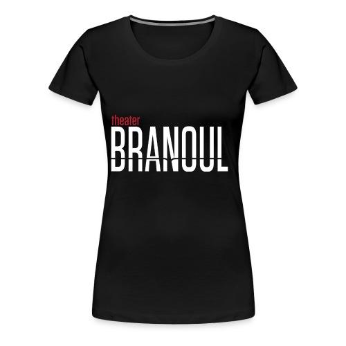 Branoul Logo rood wit - Vrouwen Premium T-shirt