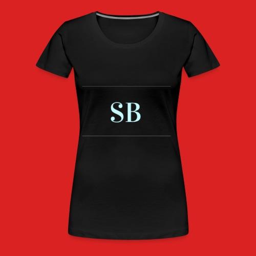 Sb blue logo merch - Women's Premium T-Shirt