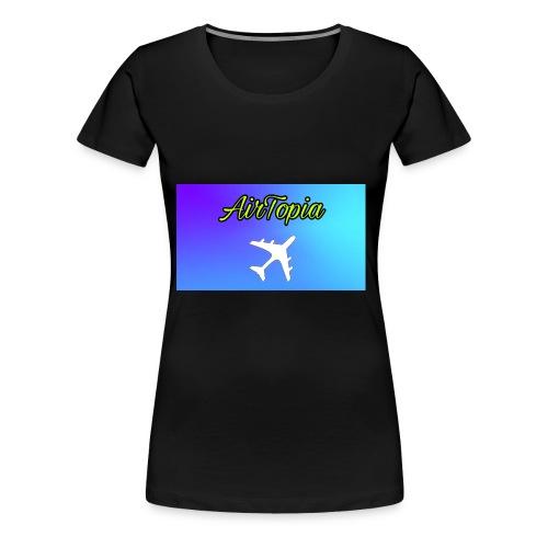 Knuffelbeer Met Logo - Vrouwen Premium T-shirt