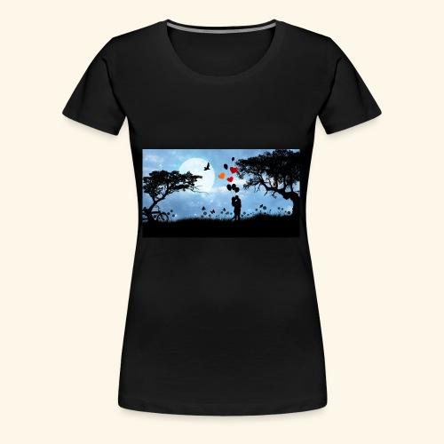 love is in the air - Frauen Premium T-Shirt