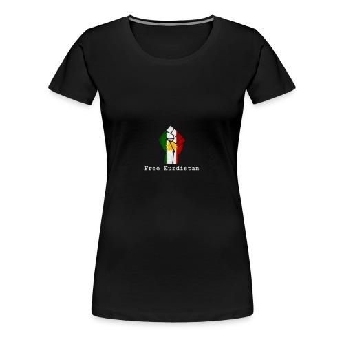 free kurdistan - Frauen Premium T-Shirt