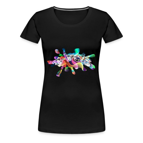 T-FOR Splash - Women's Premium T-Shirt