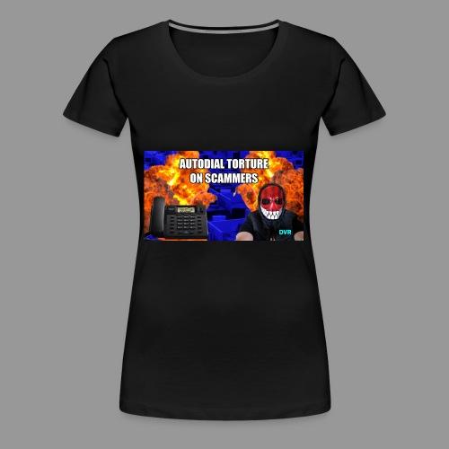 deeveeaar autodial shirt - Women's Premium T-Shirt