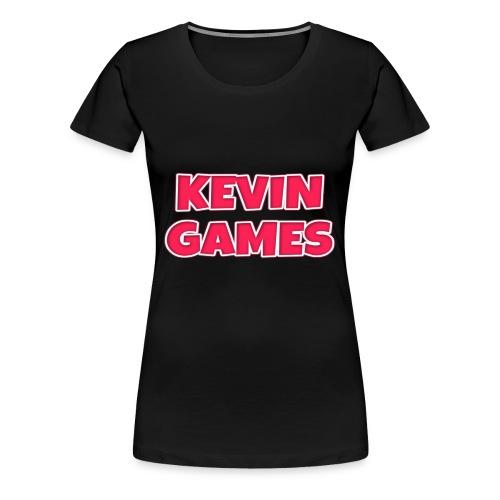 Maglietta KevinGames YouTube - Maglietta Premium da donna