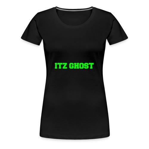 ITZ GHOST - Women's Premium T-Shirt