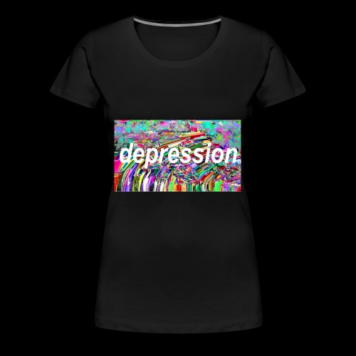 Depression Sesh - Women's Premium T-Shirt