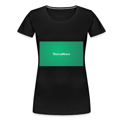 backgrounder - Frauen Premium T-Shirt