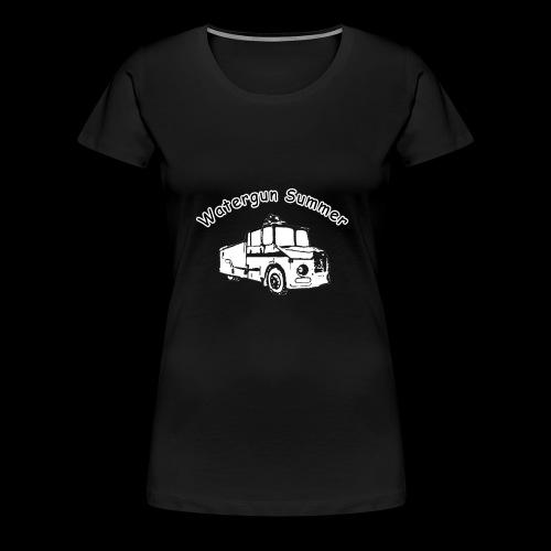 Watergun Summer - Frauen Premium T-Shirt