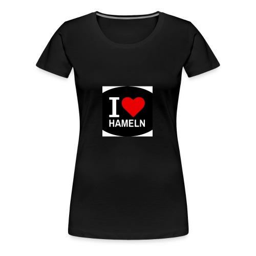 ilovehameln - Frauen Premium T-Shirt
