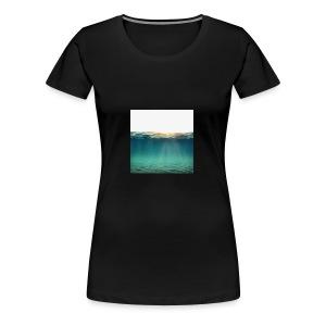 Sea - Premium T-skjorte for kvinner