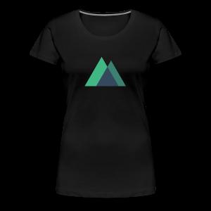 Mountain Logo - Women's Premium T-Shirt