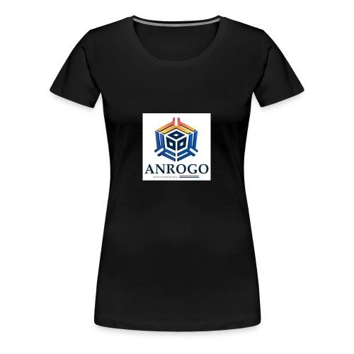 ANROGO - Camiseta premium mujer