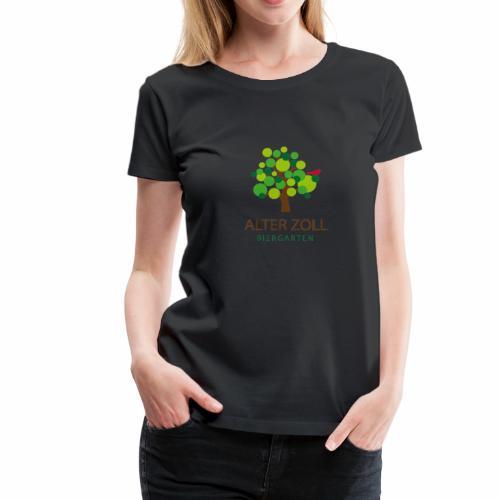 Biergarten Alter Zoll - Frauen Premium T-Shirt