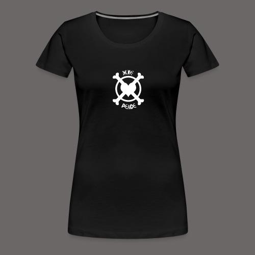 One Peace White - T-shirt Premium Femme
