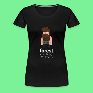 Waldmann | Flat Design - Frauen Premium T-Shirt