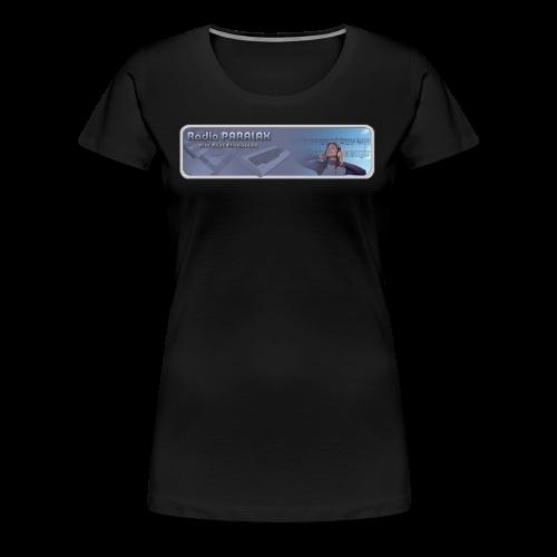 Radio PARALAX Classic-Logo - Frauen Premium T-Shirt