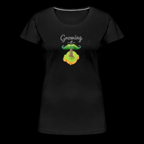 Moustache tree - Women's Premium T-Shirt
