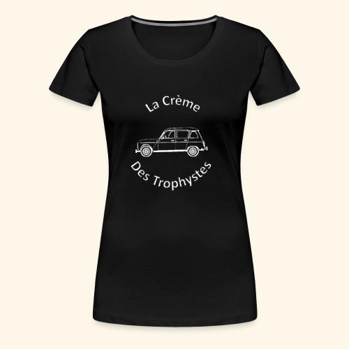 La Crème Des Trophystes - Modèle Berline Blanc - T-shirt Premium Femme
