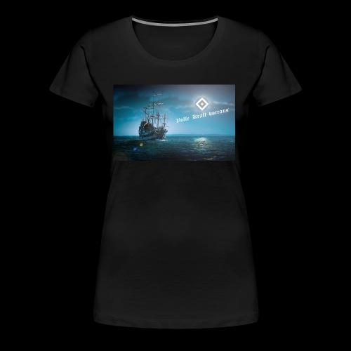 Hamburg Schiff - Frauen Premium T-Shirt