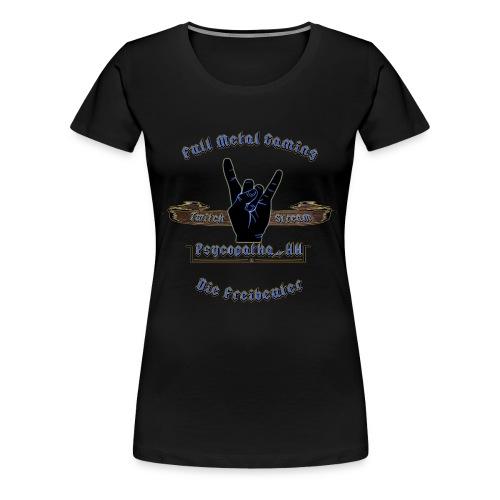 Supporter der Freibeutercommunity - Design by HpT - Frauen Premium T-Shirt