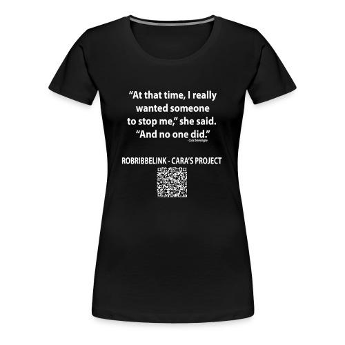 Caras Project fan shirt - Women's Premium T-Shirt