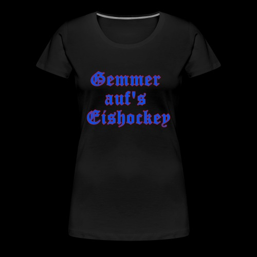 hockey - Frauen Premium T-Shirt