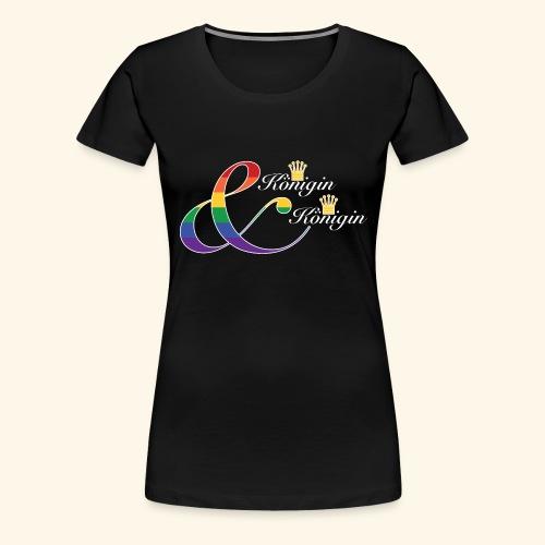 Königinnen 1 - Frauen Premium T-Shirt