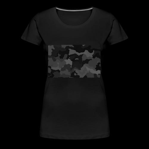 Camouflage-Black - Frauen Premium T-Shirt