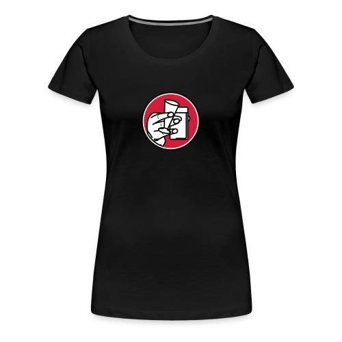 Lüttje Lage trinken - Frauen Premium T-Shirt