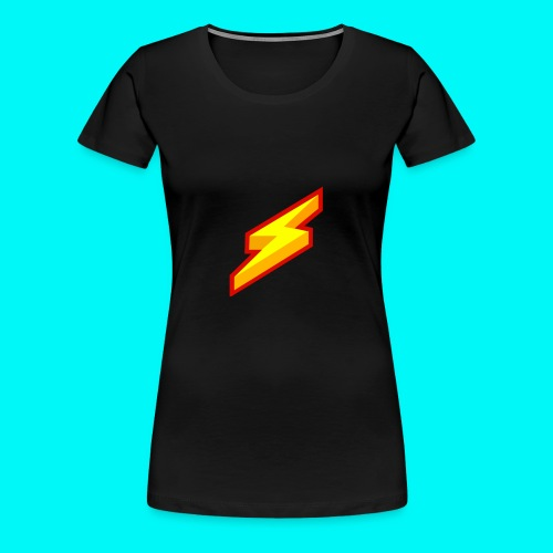Lightning Shirt - Vrouwen Premium T-shirt