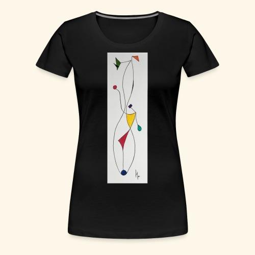 Elégance - T-shirt Premium Femme
