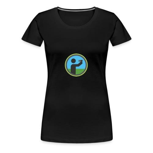 vlogs - Women's Premium T-Shirt