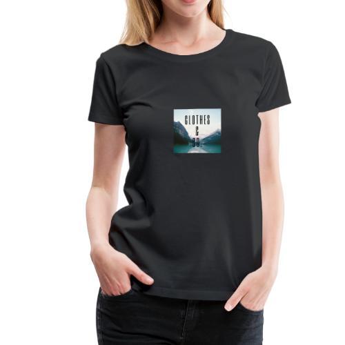 Clothes & Co. - T-shirt Premium Femme