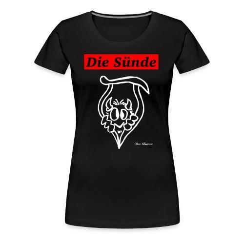 Loge DIE SÜNDE designed by antonia - Frauen Premium T-Shirt