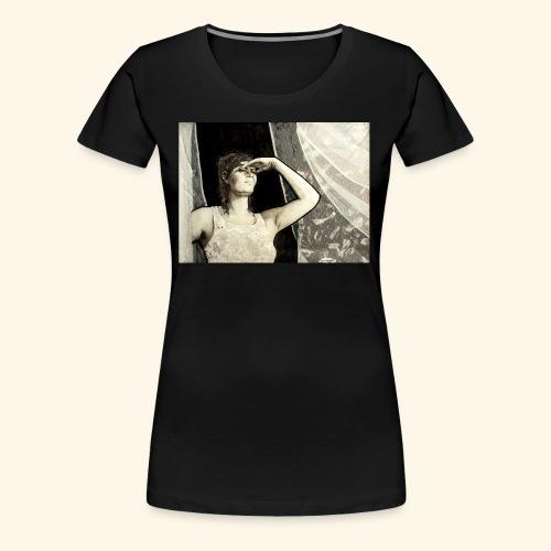 Sunny window - Naisten premium t-paita