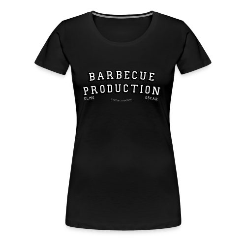 ELMO- BARBECUEPRODUCTION YOUTUBE CRETION - T-shirt Premium Femme
