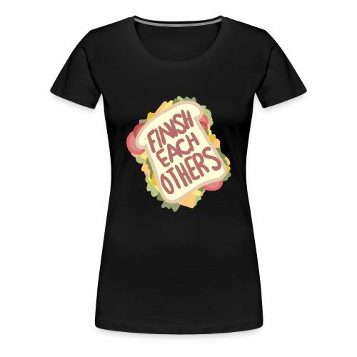 Sandwich - Women's Premium T-Shirt