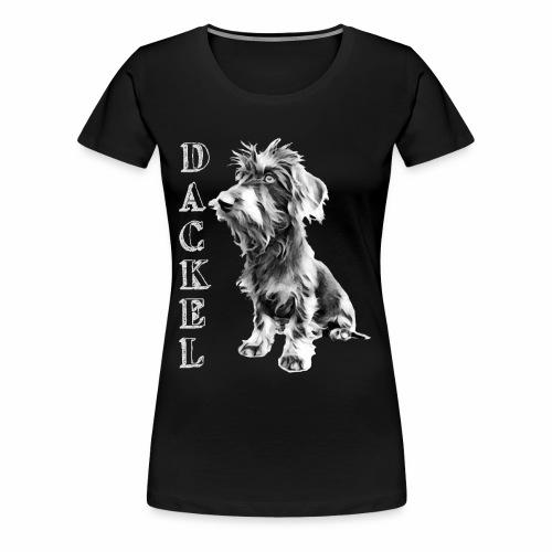 Dackel die besten Hunde der Welt Dackelfieber - Frauen Premium T-Shirt
