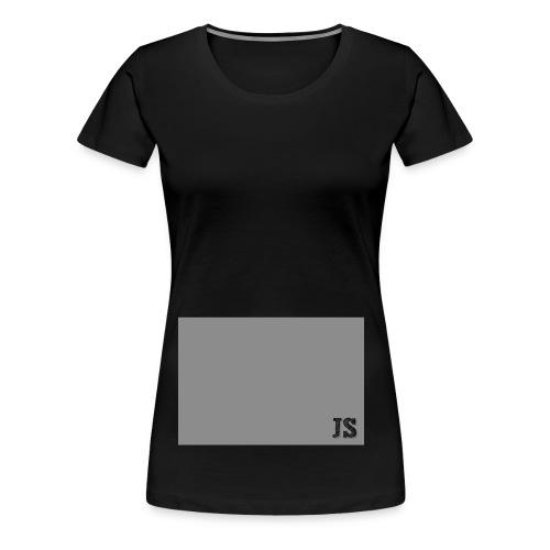 JustSquares Grijs - Vrouwen Premium T-shirt