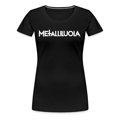 Metalliluola urheiluvaatteita - Naisten premium t-paita