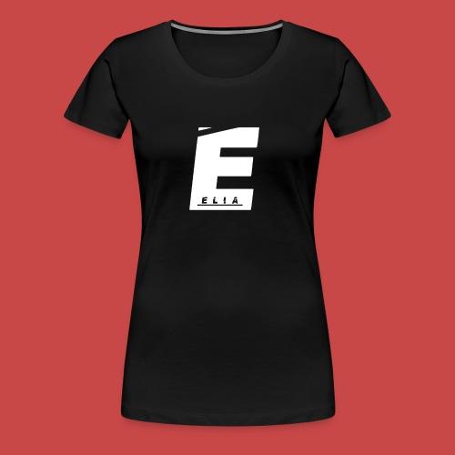 Elia Logo - Weiß - Frauen Premium T-Shirt