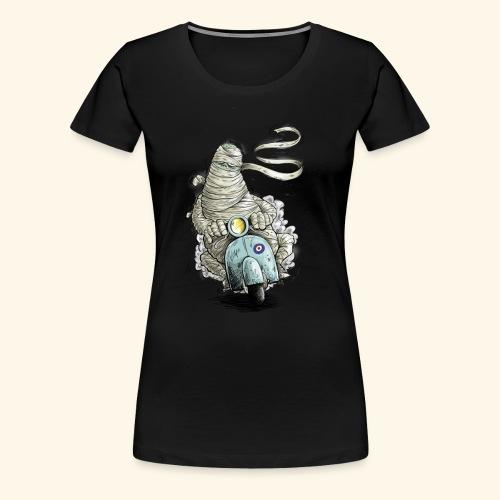 mummie vespa verband cartoon - Vrouwen Premium T-shirt
